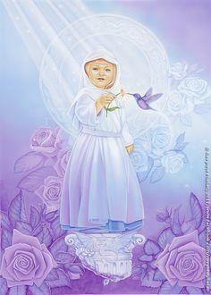 Card: The Child Deck: Dreams of Gaia Tarot by Ravynne Phelan