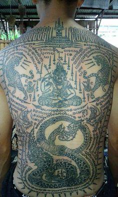 Thai Sak Yant tattoo