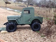 1958 Willys CJ-3B - Photo submitted by Marty Thorpe.