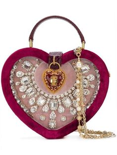 400c161bc57e Dolce   Gabbana My Heart Shoulder Bag - Farfetch Dolce   Gabbana