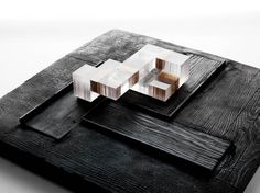 plexiglass + wood