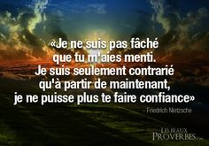 Les Beaux Proverbes – Proverbes, citations et pensées positives » » mensonge Nietzsche Frases, Friedrich Nietzsche, Freedom Meaning, Bad Intentions, Quote Citation, Father Quotes, French Quotes, Real Talk Quotes, Famous Quotes