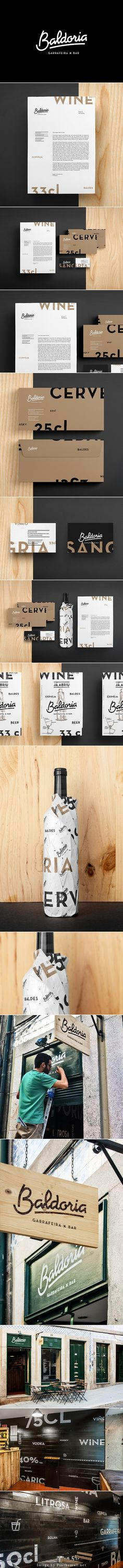 Branding Project: Baldoria – Garrafeira x Bar by Another Collective