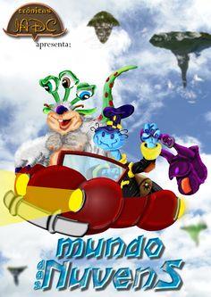 """História em Quadrinhos - """"Mundo das Nuvens"""" Visite: www.institutodeartesdarcicampioti.blogspot.com.br"""