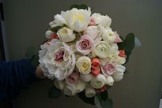 Bridal Bouquets, Wedding Flowers by Pocket Full of Posies, Galloway / Smithville, South New Jersey 609-652-6666 South Jersey Special Event Wedding Florist.