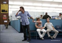 The Hangover publicity still of Bradley Cooper, Zach Galifianakis & Ed Helms