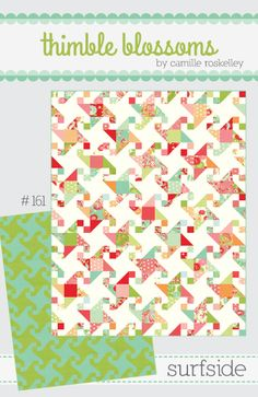 Surfside quilt pattern (Bloomerie)