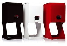 Take your wine Out of the BOX! Hello LA! I am so getting one of these :) Cute!