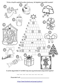 Diy Christmas Tree, Christmas Time, Teaching English, Elementary Schools, Diy Gifts, Advent, Worksheets, December, Language