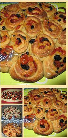 Torta delle rose salata, la ricetta per prepararla facilmente!  #tortasalata #tortadellerose #ricettegustose