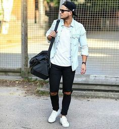 Best Casual Spring Jackets for Men that You Must Have - Fashion Best Urban Outfits, Trendy Outfits, Cool Outfits, Men Street, Street Wear, Urban Fashion, Mens Fashion, Style Fashion, Looks Pinterest