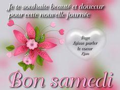 Je te souhaite beauté et douceur pour cette nouvelle journée. Bon samedi #bonsamedi fleur coeur bon samedi