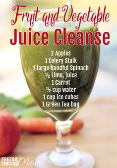 Are you ready for summer and your *gulp* bathing suit? If you feel like your body could be a bit more beach ready then consider trying a vegetable juice cleanse. Even if you've got a rockin' beach bod, you can still benefit from the nutritional boost this homemade fruit and vegetable juice cleanse will provide. It is packed with produce that'll fill you up and have you feeling great plus it only takes minutes to make.