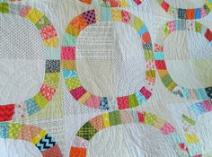 single girl {hand quilted}, via Flickr.
