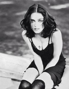 """Madonna photographed by Herb Ritts, 1989 "" Madonna Music, Lady Madonna, Madonna Albums, Madonna Art, Madonna Vogue, Daft Punk, Mtv, Madonna Like A Prayer, Madona"
