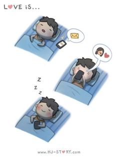 love is. ❤ (HJ Story) This is me and my bf Hj Story, Relationship Cartoons, Funny Relationship, Cute Love Cartoons, Funny Cartoons, Funny Humor, Cute Love Stories, Love Story, Love Is Sweet