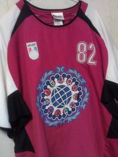 New with Tag Disney Epcot Soccer Jersey      Mens size Large      Starting bid of $34.99          Take a look!!  Place a bid!!!