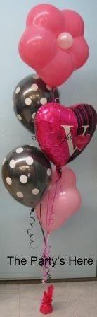 valentine balloon bouquet delivery