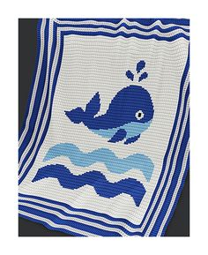 http://www.ravelry.com/patterns/library/baby-blanket-whale