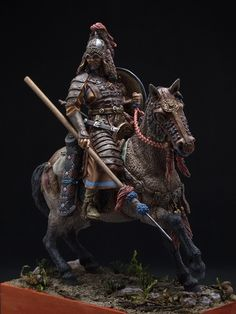 Mongolian Horseman, XIII century by Viktor Osipenko · Putty&Paint Vikings, Chinese Armor, Classical Antiquity, Mongolia, Fantasy Armor, Toy Soldiers, American Soldiers, Military Art, Figure Painting
