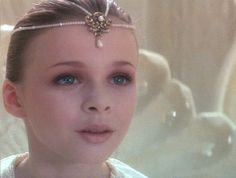 "The ""Never Ending Story"" child empress as child actress ""Tami Stronach""."