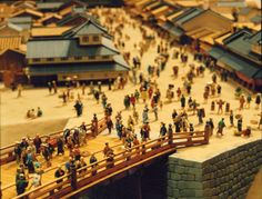 Diorama madness at the Edo Tokyo Museum. This is Nihonbashi as it used to look (probably...)