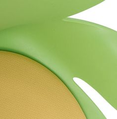 Koehl Seating Calixo flower chair abstract  in lime green