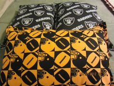 Sport Themed Throw Pillows Perfect for Game Day Follow me on FB PillowTalkbyLu