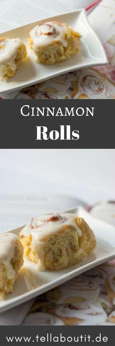 Dieses super leckere Cinnamon Rolls Rezept ist wirklich einfach zu backen und so unglaublich lecker. Super softe Zimtschnecken mit Frischkäse Topping!