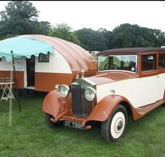 vintage small campers | Share Vintage look. Very chic.. :D