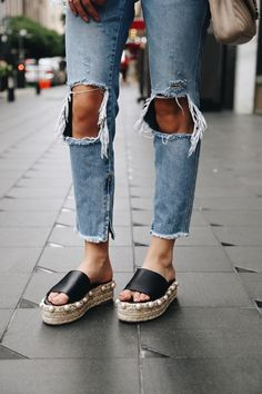 Somewhere, Lately: Top 5 Espadrille Platform Sandals