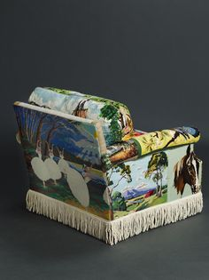 Lola Loves... Suzie Stanford's Quirky Tapestry Chair - Lola Who Lola Who