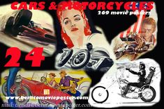 """CARS $ MOTORCYCLES MOVIE POSTER PDF BOOK"" MOVIE POSTER - ""24 PDF-BOOK CARS & MOTORCYCLES 269 MOVIE POSTER"" MOVIE POSTER"