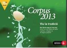 L'Ou com Balla, una tradició que es pot veure a molts patis de Barcelona i d'altres localitats (Corpus 2013)