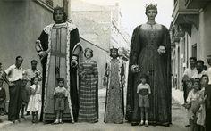 Els gegants de Vilafranca del Penedès. 1948-1952