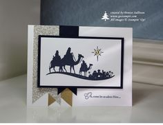Come to Bethlehem card