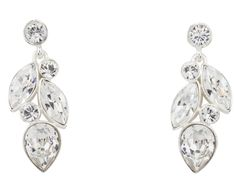 Incredible doesn't begin to describe this earring! 100224-E2 MADE WITH SWAROVSKI ELEMENTS Bridal Boutique, Wedding Gowns, Diamond Earrings, Swarovski, Jewelry Accessories, Engagement Rings, Ontario, Canada, Style