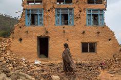 Kalchowk, Nepal, il maggio, 2015. - (Omar Havana, Getty Images)