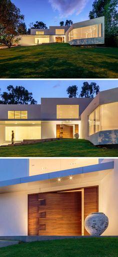 Casa Orquídea de Arquiteto Aquiles Nícolas Kílaris House - Facade Maison Style Moderne