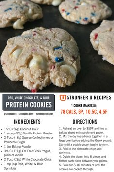 Healthy Protein Snacks That Pack a Punch Protein Cookies, Healthy Cookies, Protein Cake, Protein Muffins, Protein Chocolate Chip Cookies, Protein Donuts, Healthy Protein Snacks, Healthy Sweets, Healthy Baking