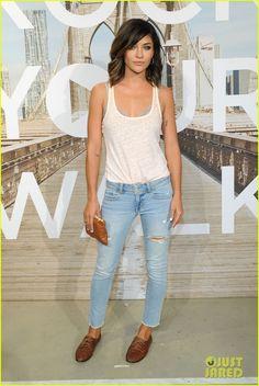 Jessica Szohr in  AE 'Rock Your Walk' Launch