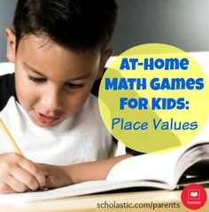 4 simple activities to build your child's understanding of place value.