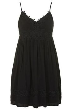 7bb31ddacdc9 PETITE Applique Babydoll Dress