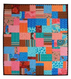 Baby Quilt Using Fat Quarters   What Are Quilters Blogging About Today?