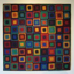 Ravelry: Pseudoku - Crochet pattern by Woolly Thoughts