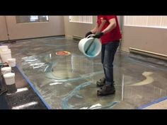 Epoxy Resin Table Top/ Step by step/Dual Heat action/ DIY/begginers and advanced - YouTube