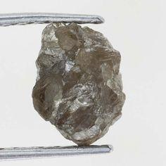 0.93 Ct Carat African  Brownish Color Rough Diamond Specimen