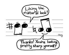 Music puns! Music puns everywhere!