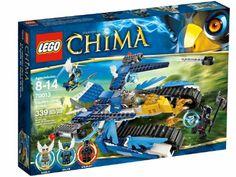 Lego Legends Of Chima - Playthèmes - 70013 - Jeu de Construction - L'ultra Striker d'equila: Amazon.fr: Jeux et Jouets