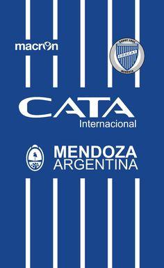 Godoy Cruz of Mendoza, Argentina wallpaper. Soccer Kits, Football Wallpaper, Mendoza, Hd Wallpaper, Wallpapers, Team Logo, T Shirt, America, Football Gear